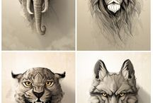 Inspiration tattoo animals