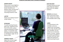 Ergonomic Guidelines - Office Chairs