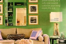 My husband wants a green colored home / by Emmeline Mirasol