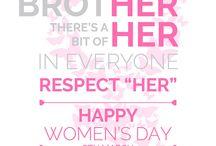 Happy Women's Day!!