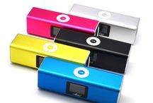 Portable Micro SD TF Card USB Disk MP3 Music Player Amplifier Speaker With LCD display