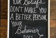 Just Sayin' / Quotes and inspiring sayings