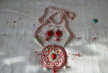 Украшения в национальном стиле (мои работы) / Представленные украшения созданы с любовью по мотивам  бурятских национальных украшений, которые можно приобрести