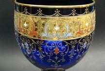 Moser Karlsbad - Art Nouveau Bohemia glass / Glass art