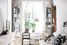 SMALL SPACES / Whether you live in a penthouse, granny flat, studio apartment or simply just a small space, here is some inspiration of making you home feel cosy yet stylish.