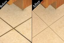 Kitchen Tile / Most kitchens develop the darkest dirty grout near the high traffic areas like by the refrigerator and cooking areas.   Long Island Grout Cleaners will come to your home and give you a like demonstration to clean and seal your grout making the floor and even the back splash look like new again.  Call us today for an in-home estimate to clean and seal your kitchen floor, trust me the floor will look like it was just installed!   Call 631-440-6081