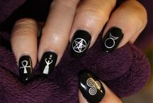 gothic nail decals