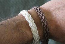 Armbänder/ Knoten/Muster