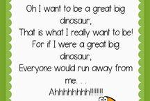 preschool- dinosaurs