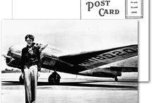 Amelia Earhart - Aviação feminina