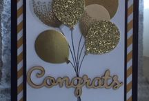Balloon Celebration Stampin' Up! / All things created with this set from Stampin' Up!