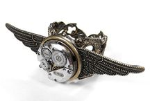 Inspired by Steampunk  / All the sprockets, zeppelins, corsets and monocles of my  old-tech heart.