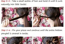Hair Styles to try / by Lindsay Waters