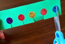 Cutting Area /  Displays - Teaching Ideas - Fine Motor Activities for Children