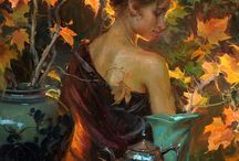 Daniel Gerhartz Paintings