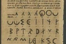 The written word and rune