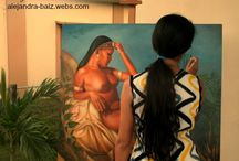 My art / Some of my paintings, drawings, sketches... You can see more at http://alejandra-baiz.webs.com