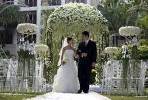 De buiten bruiloft
