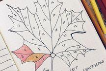 doodles and journals