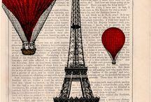 plakaty Paryż