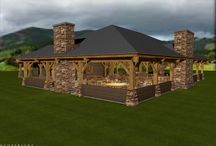 Great Dining Hall - 4540 sq. ft(421.7 sq m) / These are the 3D exterior and interior renderings of our 4540 sq. ft(421.7 sq m) Great Dining Hall.