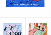 Labrador Retriever Artwork Calendars of 2016