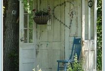 Shabby Chic in the garden