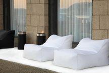 Puffs / Puffs modernos e confortáveis para interior e exterior