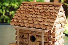 Cabanes nichoirs oiseau