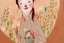 illustrations / by GrayDayStudio { Abigail }