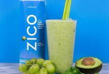 ZICO Smoothies / #CrackLifeOpen with these delicious smoothies using #ZICOCoconutWater.