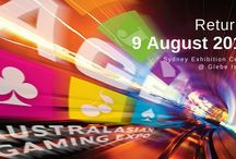 AGE 2016 / The Australasian Gaming Expo returns to the Sydney Exhibition Centre at Glebe Island on 9 August 2016.  With 25% more exhibitors lined up for 2016, the Australasian Gaming Expo just keeps getting bigger and better!