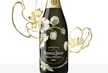 Gorgeous Champagne Bottles for Weddings
