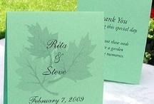 Fall Wedding Favorite Favors