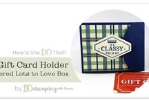 Sure Do Love You and Lots to Love Box Framelits Stampin Up