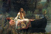 Pre-Raphaelite / Pre-Raphaelite Artists