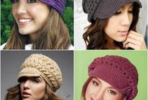 Crochet: Hats / Various crochet hat patterns and/or inspirational pics / by Jeanna Swafford