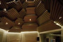 Soundproofed recording studios