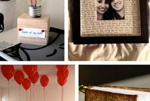 Valentine's Day Gift Ideas / Jars of love notes to paper hearts, running shoes, candies and flowers! On this board you will find some cute and creative Valentine's Day gift ideas for him, her, the kids and more!