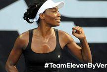 Team EleVen by Venus / Brand ambassadors for fitness line designed by Venus Williams