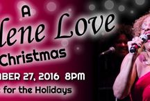 """DARLENE LOVE: Love for the Holidays at The Newton Theatre 11/27/2016 / Darlene Love celebrates the holidays in an engaging performance of her classics and holiday hits Christmas (Baby Please Come Home) andAll Alone on Christmas, from Home Alone 2.  The show is rounded out with a full band and singers. Darlene Love began her career singing background for many legendary performers, before becoming a star in her own right. Rolling Stone Magazine proclaimed Love to be """"one of the greatest singers of all time""""."""