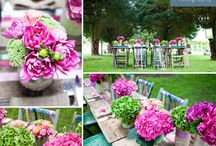 Wedding Decor Inspiration / Lots of different ideas to help you style your wedding.