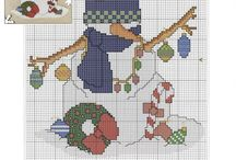 cross stitch christmas