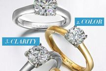 Wedding Rings & Jewelry / Wedding rings, earnings, bracelets and all things that bling!  I love wedding jewelry with a little sparkle.