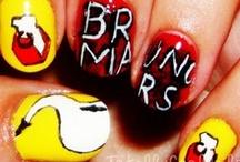 bruno mars's nails
