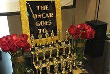 fiesta de premios Oscar.