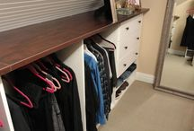 Dressing / walk in closet