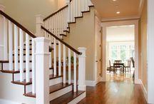 Stair railing / Handrail