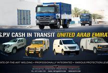 Cash in Transit CIT Vehicles UNITED ARAB EMIRATES