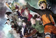 Naruto Shippuden / by Clyde Short II